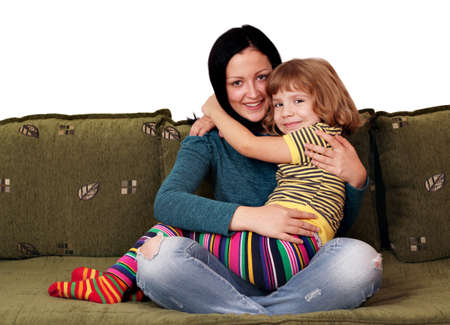teenage and little girl sisters Stock Photo - 15844469