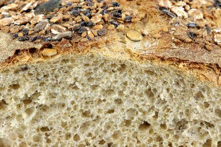 close up food: bread close up food