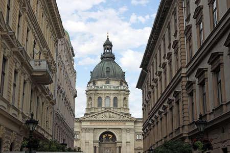 saint stephen cathedral: Saint Stephens Basilica Budapest Hungary