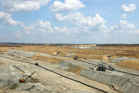 open pit: open pit coal mining industry