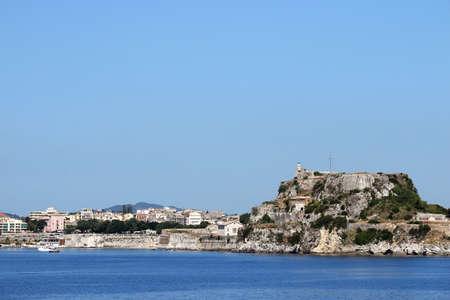 kerkyra: old fortress and Corfu town Greece