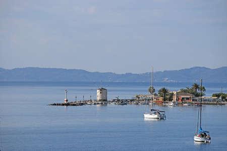 corfu: old windmill Corfu town Greece