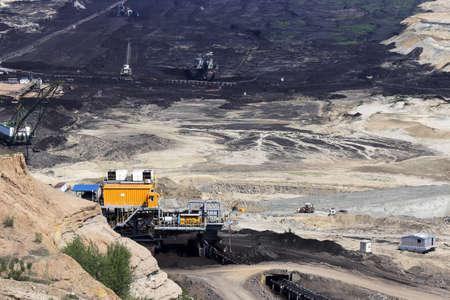 open pit: open pit coal mine mining industry
