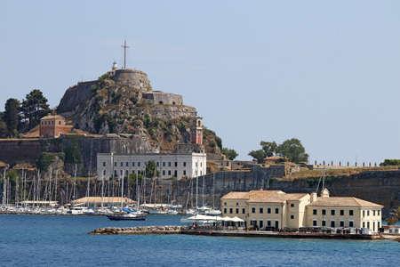 corfu: old fortress Corfu town Greece