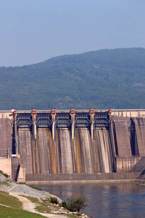 hydropower plants: hydropower plants on Drina river Serbia