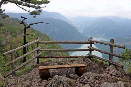 tara: viewpoint Banjska stena Tara mountain Serbia