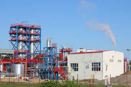 petrochemical plant refinery industry