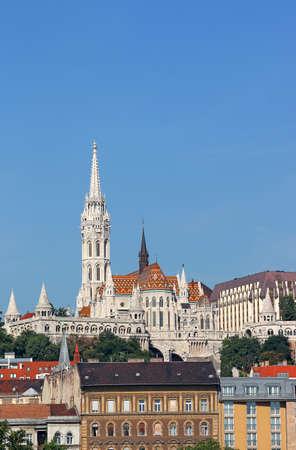 Matthias church and Fisherman towers Budapest Hungary