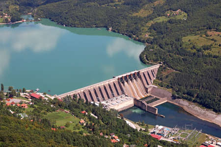 hydropower plants on Drina river