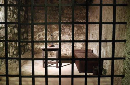 prison: Old prison cell
