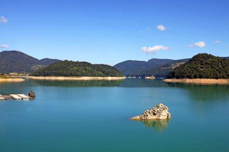 Zaovine lake Tara mountain  nature landscape