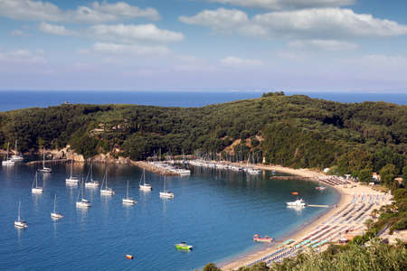 ionio: Valtos beach Parga Greece summer season