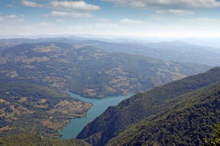 山の風景夏ヨーロッパ 写真素材