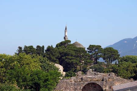 Mosque Ioannina landscape Epirus Greece