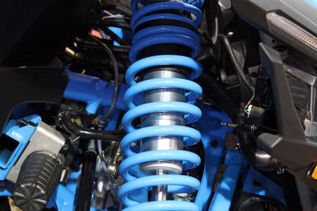all terrain vehicle shock absorber  版權商用圖片