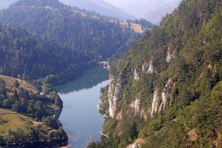 Spajici lake Tara mountain Serbia