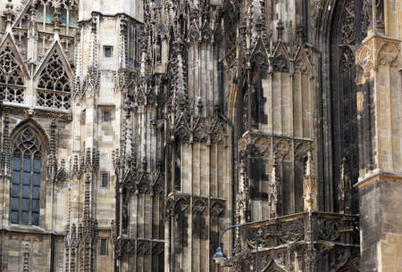 Saint Stephens Cathedral detail Vienna Austria
