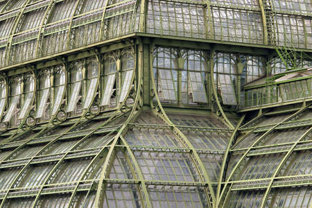 greenhouse windows in Vienna Austria vintage