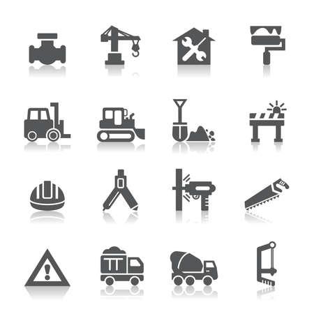 Iconos de la construcción Foto de archivo - 30290967