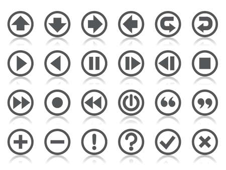 exclamation mark: Control Panel Icons