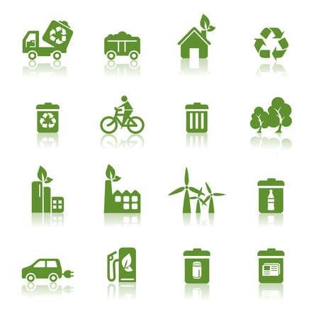 Environmental Protection Icons Vector