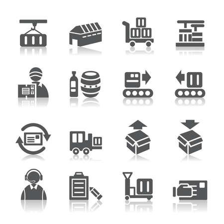 cinta transportadora: Logística y Transporte Iconos