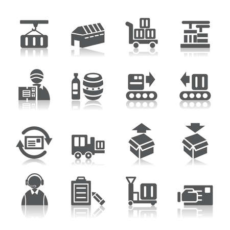 transporter: Logistics and Transport Icons