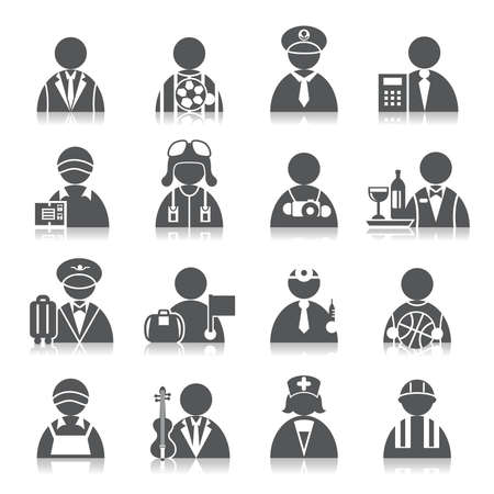Accountant: Occupation Icons