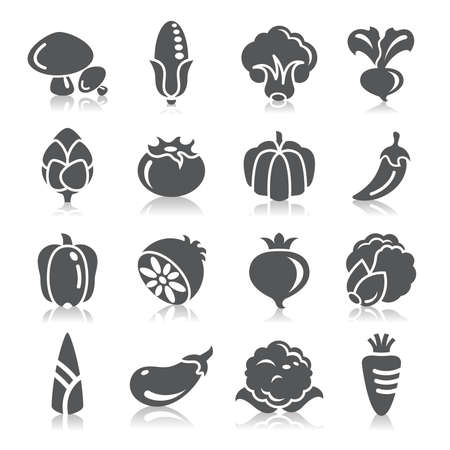 spinach: Vegetables Icons