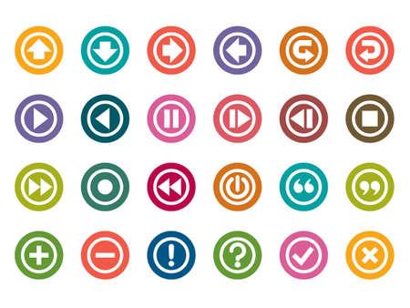 control panel: Pannello di controllo Icone a colori