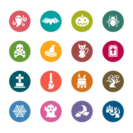 hallow: Halloween Color Icons