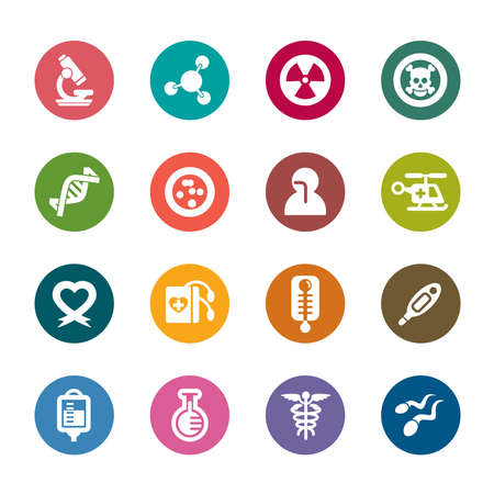 Medical Color Icon Vector