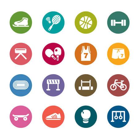 battledore: Sport Color Icons