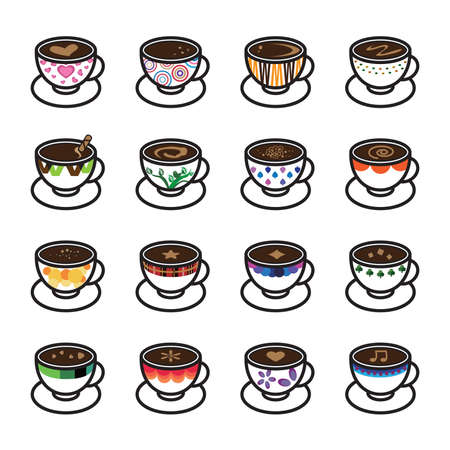 rocky road: Coffee Icons