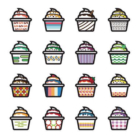 main course: Ice Cream Icons