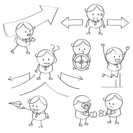 Businessman Illustrations Vector