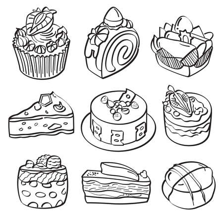 Baking and Dessert Collection Vector