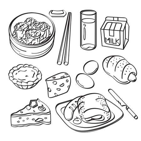 Breakfast Collection Vector
