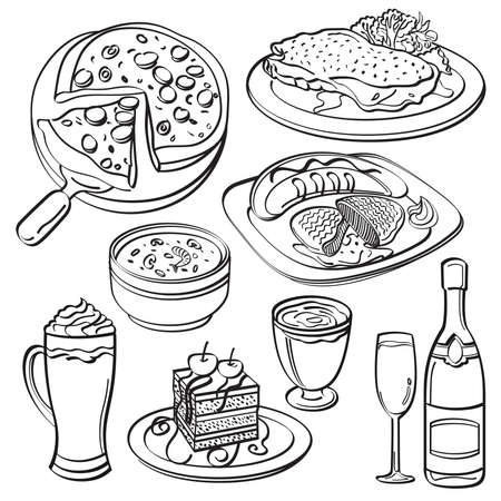 main dishes: Cena Set Collection