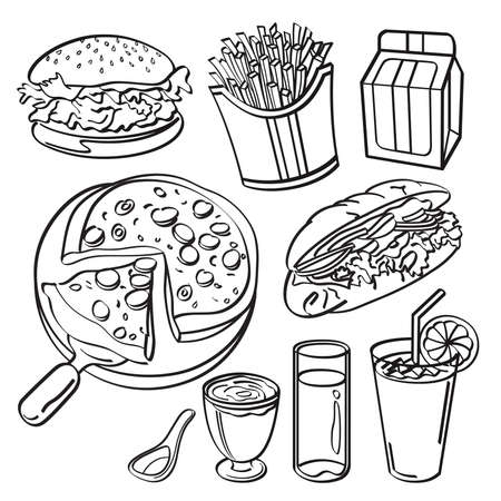 main course: Fast food collection