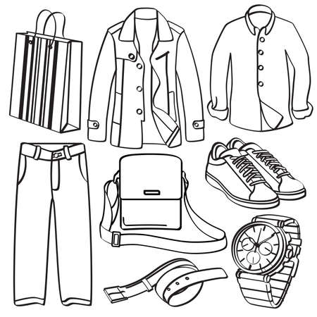 leather goods: Clothing and Accessories