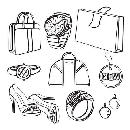 leather goods: Shopping Set and Consumer Goods Collection