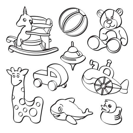 baby drawing: Toys Collection