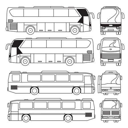 side: Transportation Vehicle Illustration