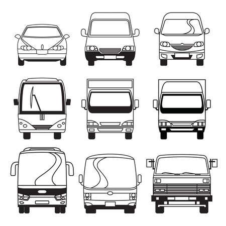 mini bus: Transportation Vehicle Collection