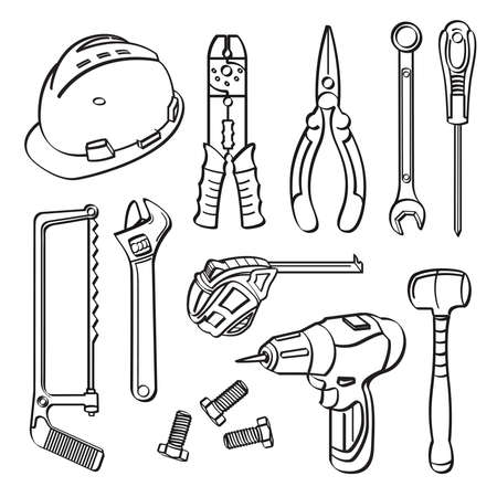 Tools Collection Vector