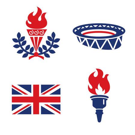 United Kingdom sport Color Icons