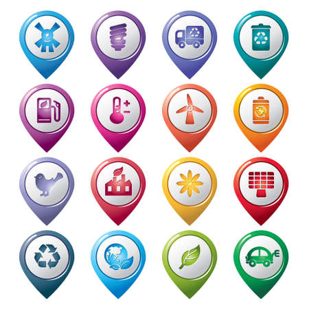 Environmental Protection Pointer Icons