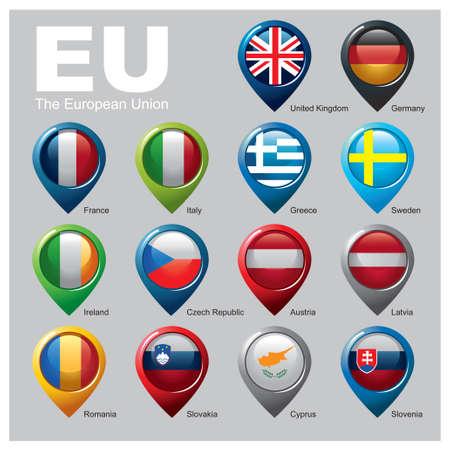 Members of the European Union - Part Two Zdjęcie Seryjne - 30520413