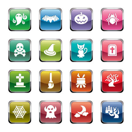 hallow: Halloween Element Icons